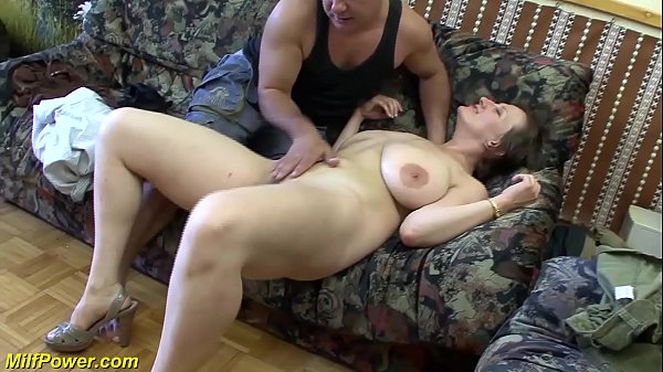 Busty German Anal